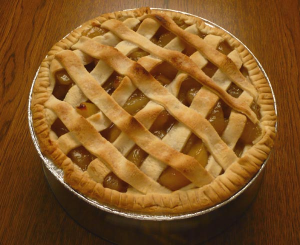 popular is the Apple Pie. This apple pie isn't made from scratch ...